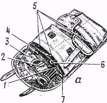 сумка для переноски оптического прицела и магазинов