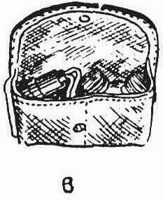 сумочка для переноски зимнего устройства освещения сетки. запасных батареек и масленки