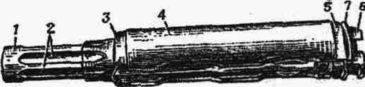 Газовая трубка со ствольной накладкой