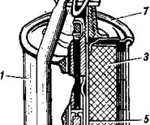 Устройство ручной осколочной гранаты РГ-42