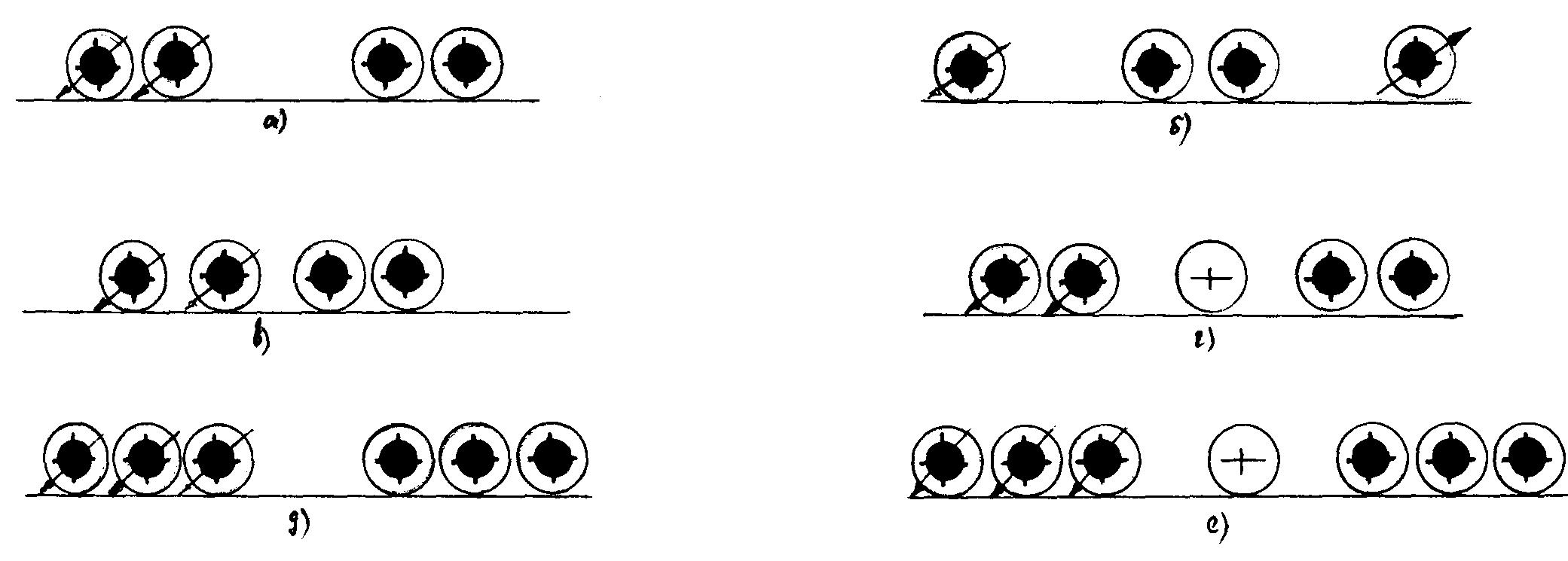 Схема расположения осей автомобилей с четырьмя и более осями