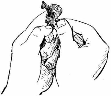 Вынимание трубчатой оси